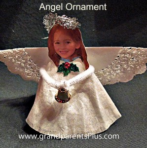 Angel Ornament for kids to make!