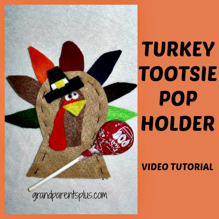 PicMonkey Collagepm1 Turkey Tootsie Pop Holder   Video Tutorial