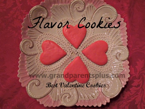 Best Valentine Cookies! Cherry almond flavor!