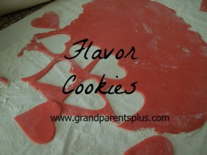 """Flavor Cookies"" a family favorite! Cherry almond flavor!"