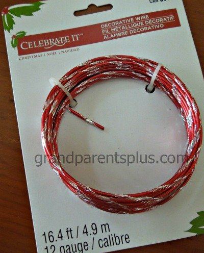 Colored Wire for Jeweled Heart Craft  #Valentine #craft #heart
