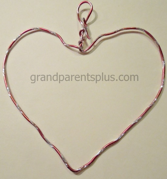 Wire heart  #heart #craft #Valentine
