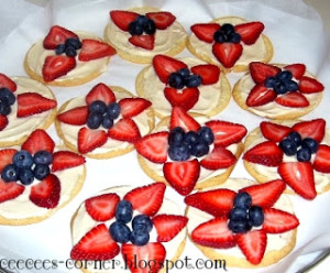 4th of July Tarts
