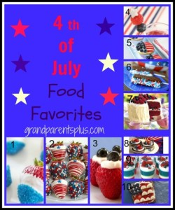 4th of July Food Favorites #4th-of-July #picnic-food #patriotic