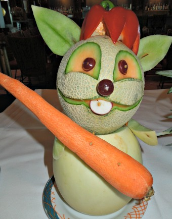 Whimsical Fruit & Veggie Centerpiece Creations! #fruit #centerpieces #fruit creations