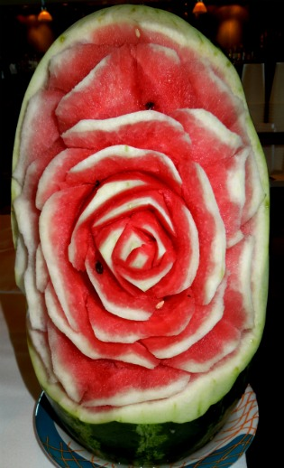 Watermelon rose