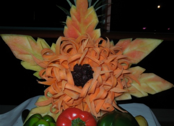 Fruit flower creation!