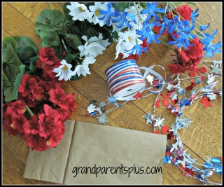 4th of July for website 001 materials DIY 4th of July   Memorial Day Centerpieces