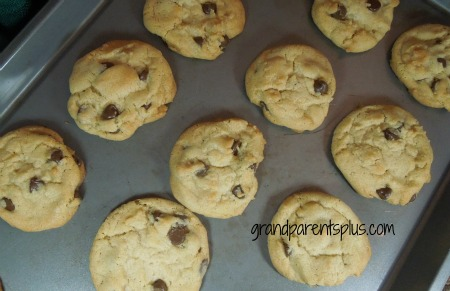 Chocolate Chip Cookies Extraordinaire  #cookie #recipe #chocolate-chip   wwww.grandparentsplus.com