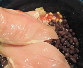 Crock Pot Southwestern Chicken