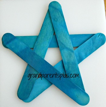 $! Wooden Star    www.grandparentsplus.com