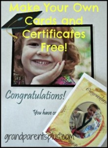 Make Your Own Cards, Certificates #cards #certificates #awards wwww.grandparentsplus.com