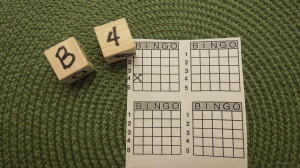 Dice Bingo Game