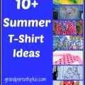 Summer T-Shirt Ideas www.grandparentsplus.com