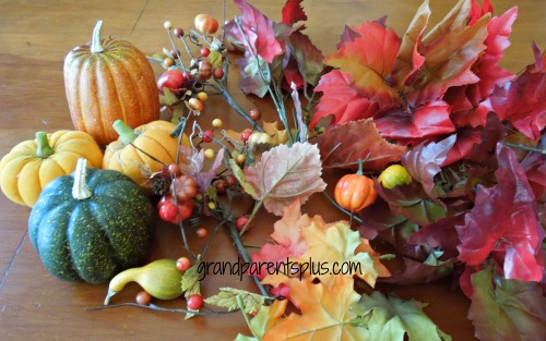 Fall Centerpiece   www.grandparentsplus.com