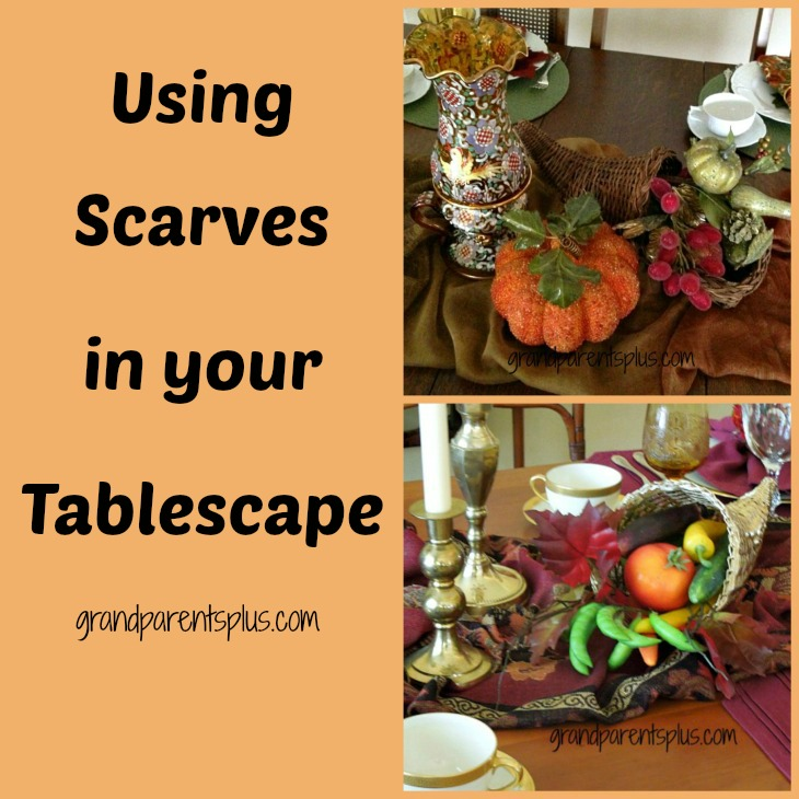 PicMonkey Collage21 Using Scarves in Your Tablescape!