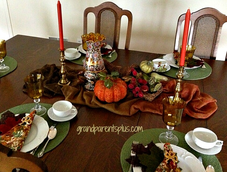 Using scarves 1 Using Scarves in Your Tablescape!