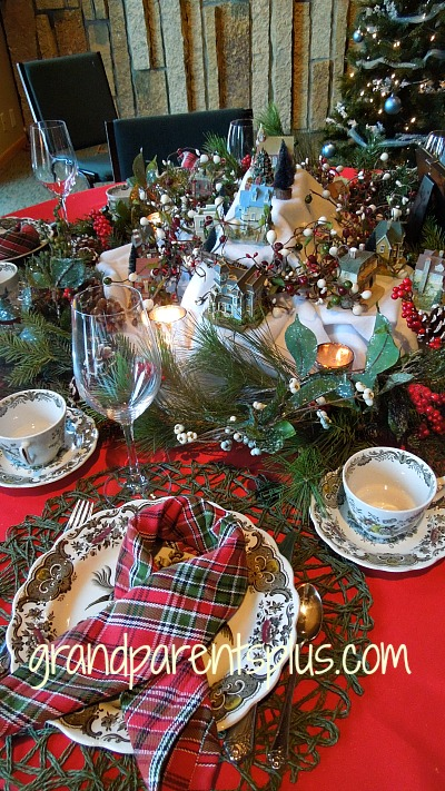 Christmas Table Settings Part 3  grandparentsplus.com
