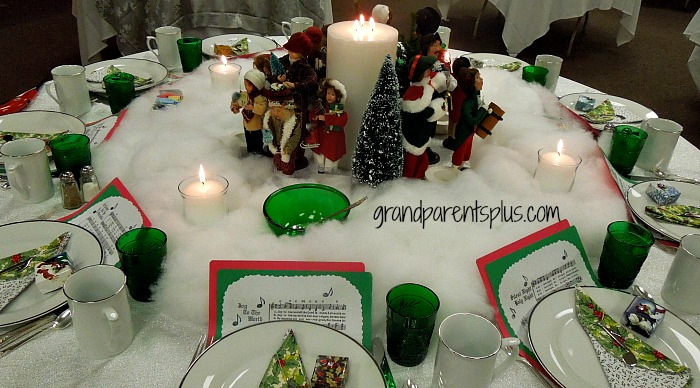 Awesome christmas table settings part 1 Christmas place setting ideas