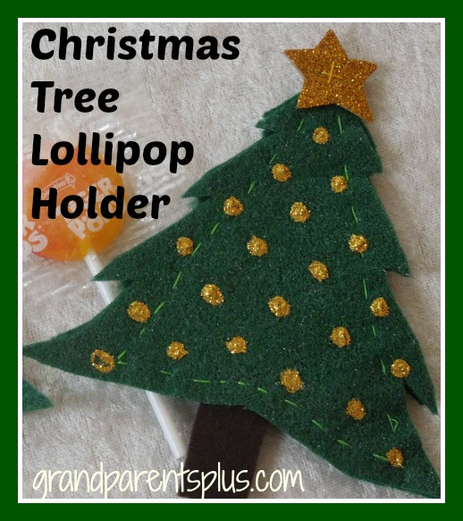 Christmas Tree Lollipop Holder 003p Christmas Tree Lollipop Holder