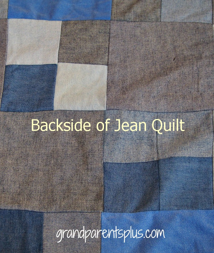 Jean Quilt 007pp Scrappy Jean Quilt for Upcycling Jeans!