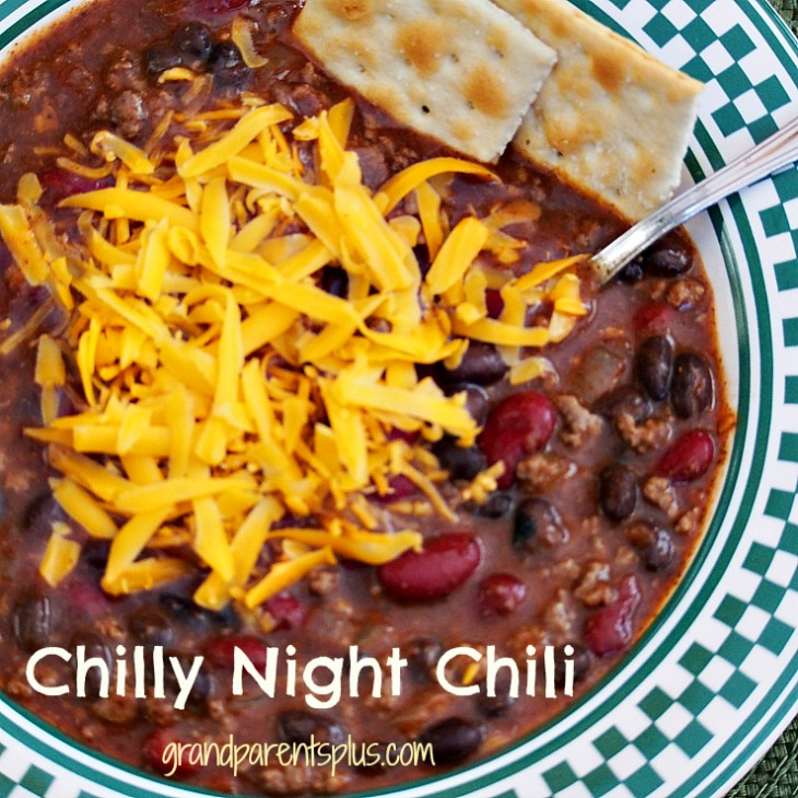 Chili 001p1 Chilly Night Chili Recipe