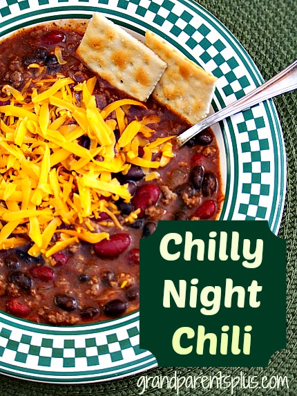 Chili 003p Chilly Night Chili Recipe
