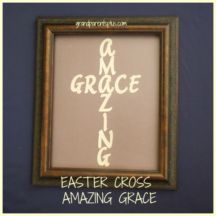 Easter Cross Amazing Grace p1 Easter Cross   Amazing Grace