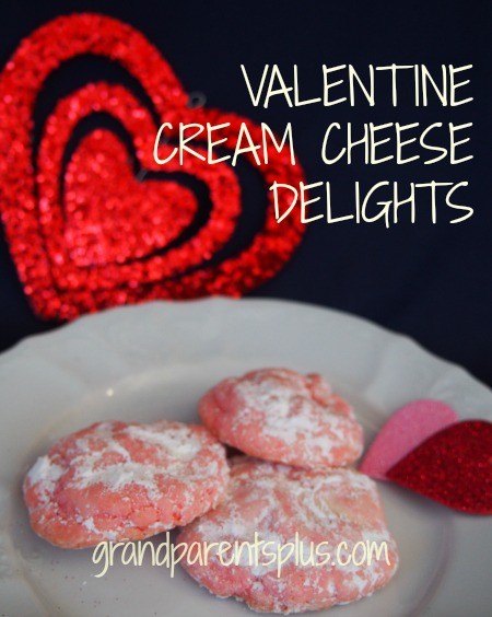 Valentine Cream Cheese Delights  grandparentsplus.com