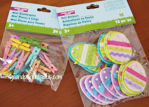 Kids Easter Placesetting 001p Easter Napkin Ring Clips