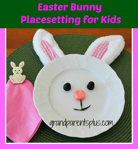 Kids Easter Placesetting 008ppp Easter Bunny Placesetting for Kids
