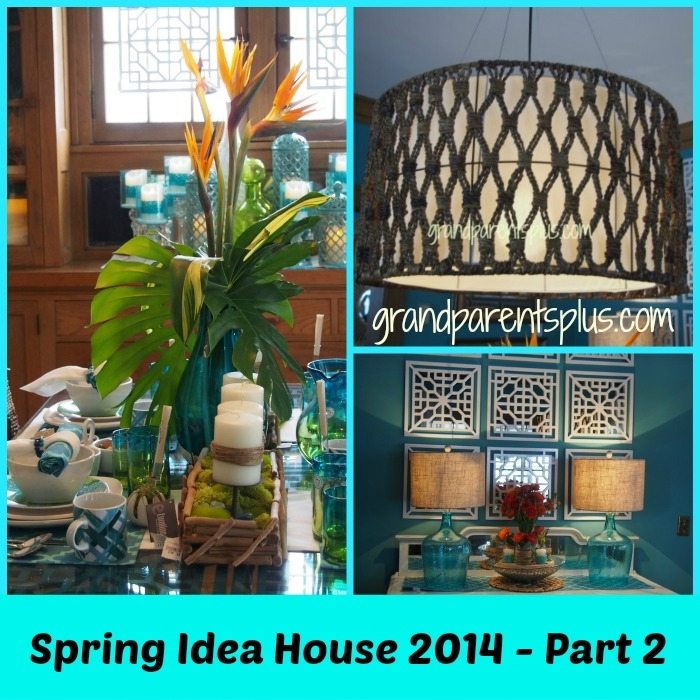 Spring Idea House 2014 Part 2 grandparentsplus.com  gran