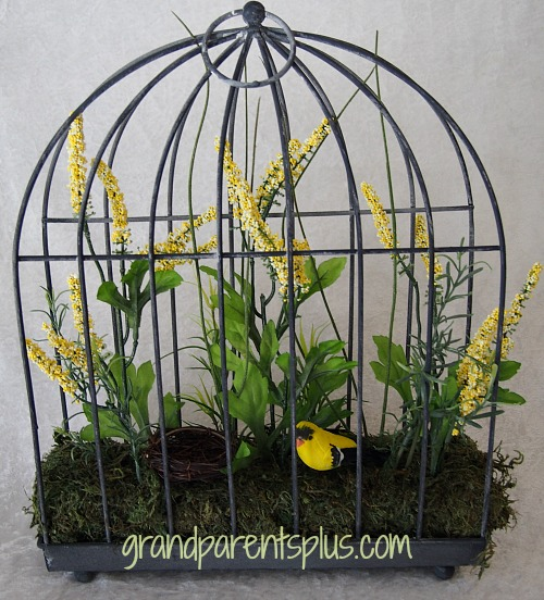 Spring Idea House Part 1  grandparentsplus.com