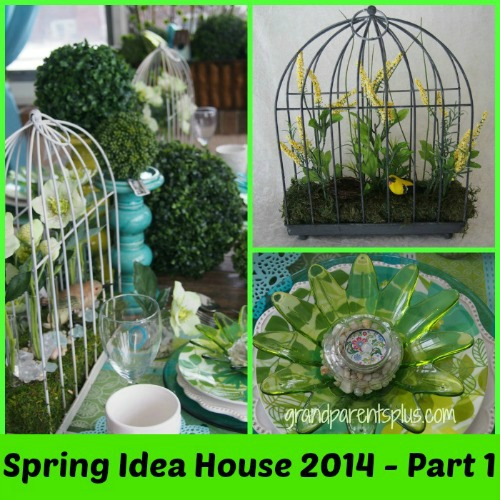 Spring Idea House 2014  Part 1  grandparentsplus.com