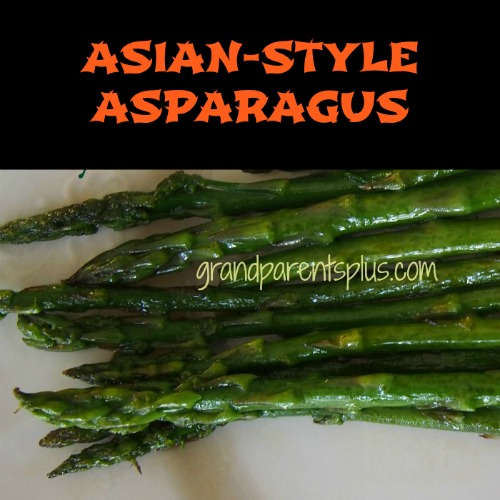 Asian-Style Asparagus  grandparentsplus.com