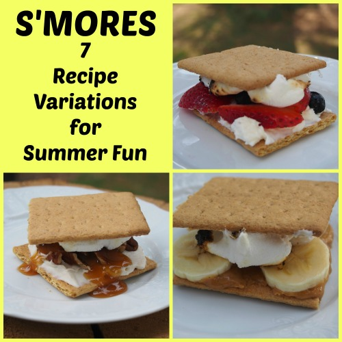 PicMonkey Collageppp Smores   7 Recipe Variations!