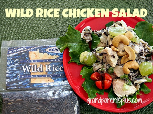 Wild Rice Chicken Salad 007p Wild Rice Chicken Salad