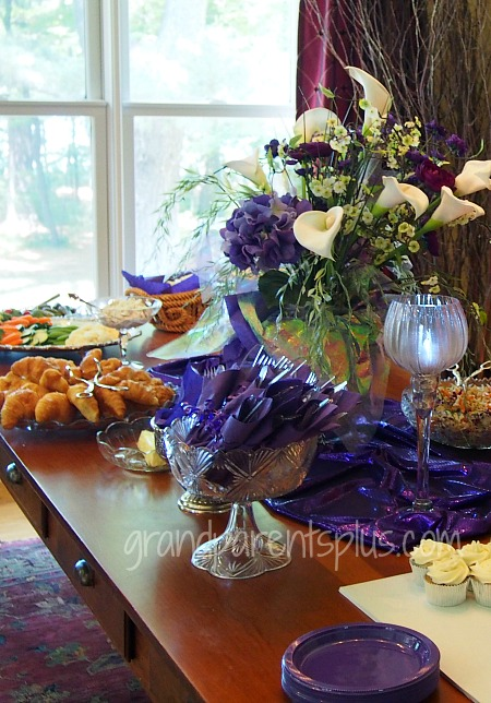 Purple Wedding Shower   grandparentsplus.com