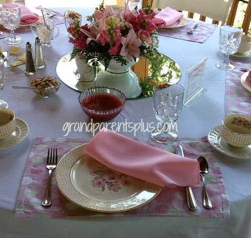Garden Luncheon Tablesetting 10 15 Garden Tablesettings
