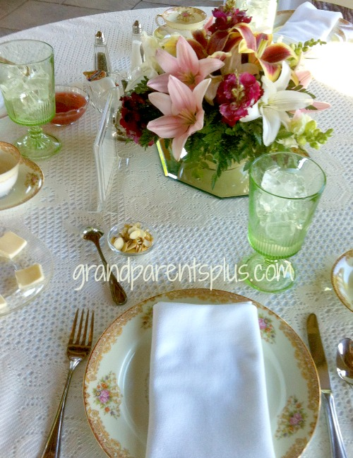 Garden Luncheon Tablesetting 6 15 Garden Tablesettings