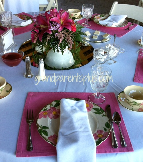 Garden Luncheon Tablesetting 9 15 Garden Tablesettings