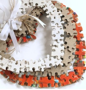 Puzzle Piece Crafts for All Seasons