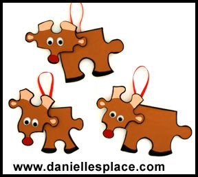 puzzle piece Puzzle Piece Crafts for All Seasons!