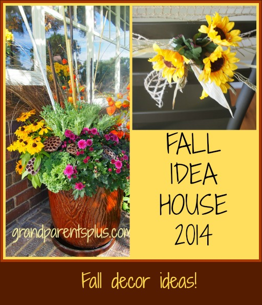 Fall Idea House 2014  grandparentsplus.com