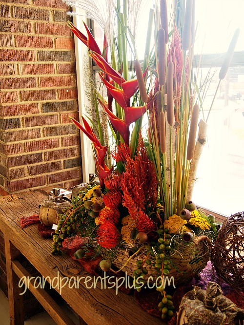 Fall Idea House #2 grandparentsplus.com