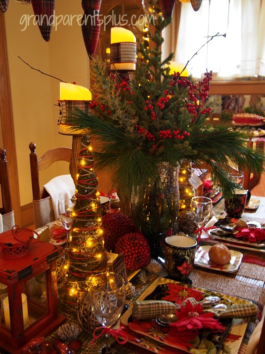 Christmas Idea House dining room Christmas Idea House 2014 Part 2