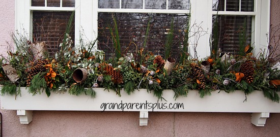Christmas Idea House window box Christmas Idea House 2014