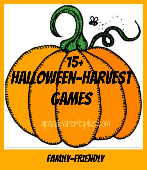 Halloween-Harvest Games grandparentsplus.com