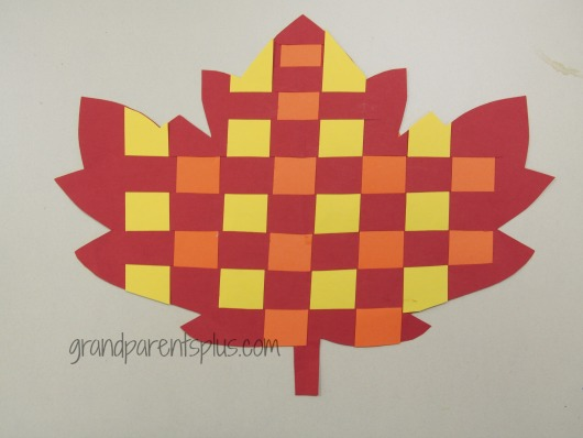 Leaf Art for Kids   grandparentsplus.com