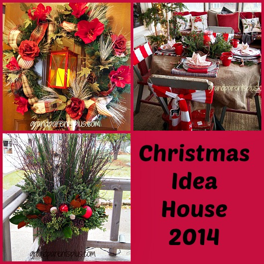 Christmas Idea House collage Christmas Idea House 2014